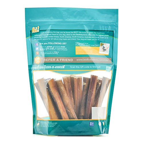bully stick bites by best bully sticks 2lb value pack all natural dog treats dealtrend. Black Bedroom Furniture Sets. Home Design Ideas