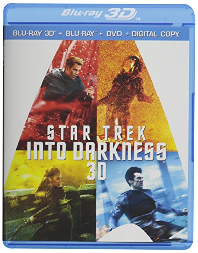 Star Trek Into Darkness 3D (Special Collector's Edition with Bonus Disc) [Blu-ray 3D + Blu-ray + DVD + Digital Copy]
