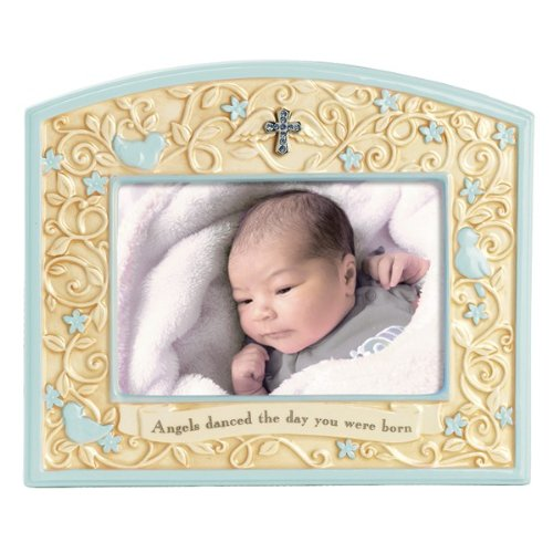 Beautiful Photo Frame For Baby Angels Danced The Day You Were Born