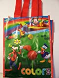 Disney Mickey Mouse Clubhouse Reusable Tote Bag ~ Find the Colors Featuring Mickey, Pluto, Goofy, & Donald (8 x 10 x 5)