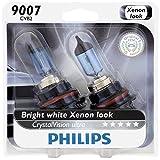 Philips 9007 CrystalVision Ultra Upgrade Headlight Bulb, 2 Pack