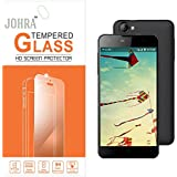 Johra 9H 2.5D Real HD+Tempered Glass Screen Scratch For LYF Wind 1 Tempered Glass