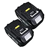 ジョウヒン 2セット MAKITAマキタBL1840 互換バッテリー大容量・BL1840(18V 4.0A)