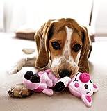 KONG Pudge Braidz Pig Dog Toy, Medium/Large