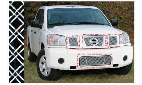 NISSAN ARMADA 2004-2007 DUAL MESH CHROME GRILLE GRILL KIT
