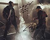 ROBERT ENGLUND and KEN KIRZINGER as Freddy Krueger & Jason Voorhees - Freddy Vs. Jason GENUINE AUTOGRAPHS