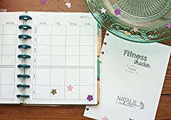 Fitness Tracker for the Happy Planner, 3 Month Supply