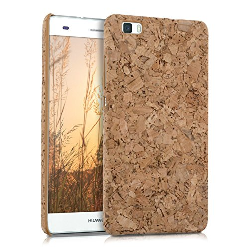 Click to buy kwmobile Natural cork case for the Huawei P8 Lite in light brown - From only $7.4
