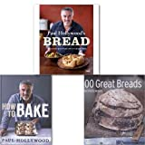 Paul Hollywood's Breads Collection 3 Books Set,(Paul Hollywood's Bread 100 Great Breads How to Bake) Paul Hollywood
