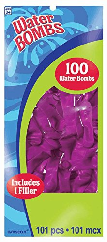 waterbomb neon purple 100ct