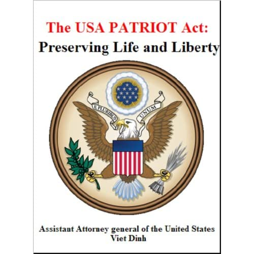 USA Patriot Act Pros and Cons List