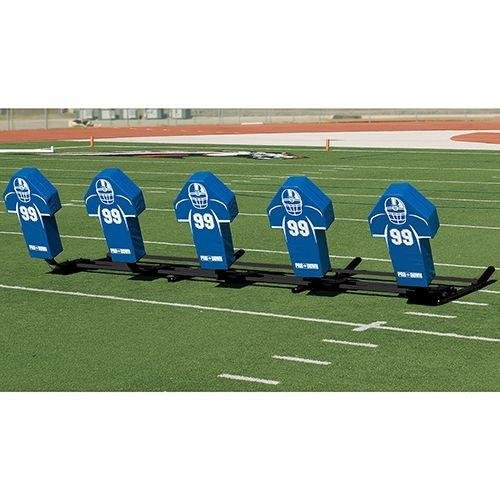 Football Blocking Sled with Custom Cone Pad - Varsity M-Series - 5 Man (5 Man Football Sled compare prices)