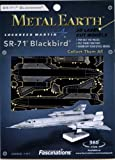 Fascinations MetalEarth 3D Laser Cut Model - SR71 Backbird
