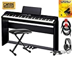 Casio Privia PX350 BK 88 Note Digital Piano Keyboard COMPLETE HOME BUNDLE