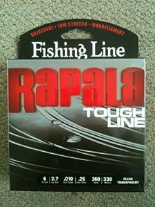 Rapala tough line fishing line sports for Amazon fishing line