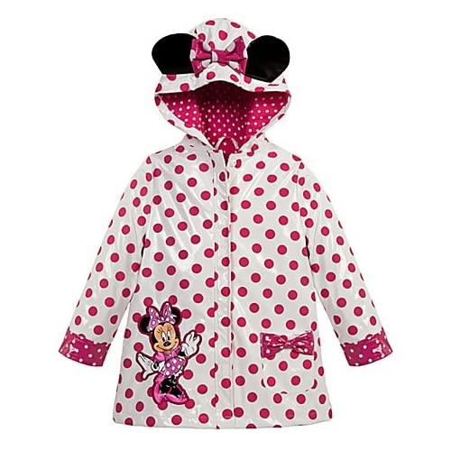 Amazon.com: Disney Minnie Mouse Clubhouse Raincoat 2 2T Polka dot rain