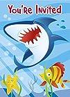 Unique Ocean Shark Invitations (8 Cou…