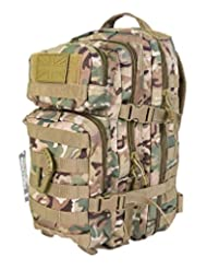 Zip Zap Zooom Army Military Tactical Combat Rucksack Backpack Bergen Molle Pack Bag All Terrain 28L
