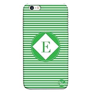 iPhone 6 PLUS - Alphabet / Letter Designer Case Cover Nutcase - MONOGRAM / INITIAL NAME -E
