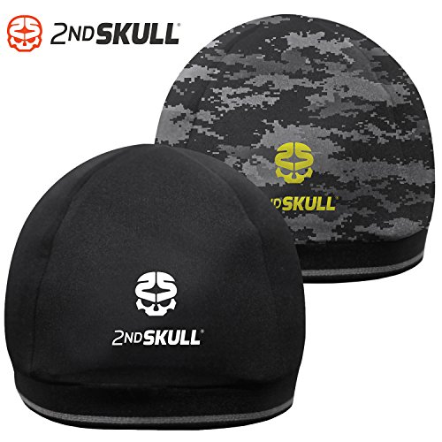 2nd SKULL Protective Skull Cap. Protective Headgear With Impact Absorbing Technology. (Black , Youth )