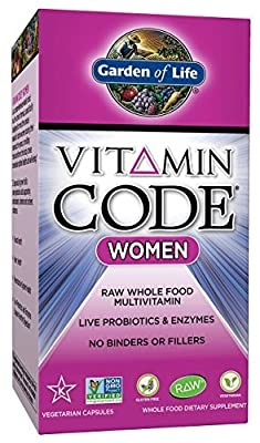 Garden of Life - Vitamin Code RAW Women's Multi Formula