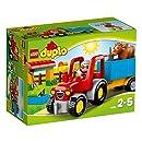 Lego Duplo Legoville - 10524 - Jeu De Construction - Le Tracteur De La Ferme