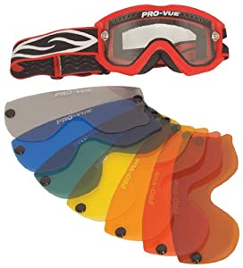 Pro-Vue PVO23C Clear Double Lens with Snap for Smith Goggle at Sears.com