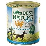 Dehner Best Nature Hundefutter Light Huhn, Karotten und Distelöl, 6 x 800 g, 1er Pack (1 x 4.8 kg)