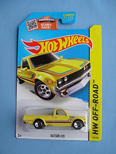 2015 Hot Wheels Kmart Exclusive Hw Off-Road - Datsun 620 (Yellow) (2015 Hot Wheels Datsun compare prices)