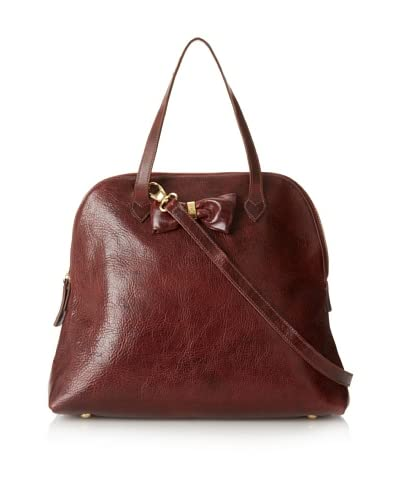 B-low the Belt Women's Bow Tote, Burgundy