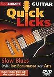 Guitar Quick Licks - Slow Blues Volume 2/Joe Bonamassa