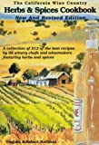 The California Wine Country Herbs & Spices Cookbook (0962992771) by Hoffman, Virginia