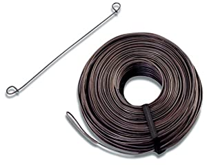 Bon 12-852 8-Inch 16-Gauge Wire Loop Rebar Ties, 5000-Pack
