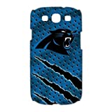 Treasure Design NFL Superbowl Carolina Panthers Team Logo Samsung Galaxy S3 9300 3d Best Durable Case at Amazon.com