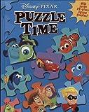 Disney Pixar: Puzzle Time (A Jigsaw Puzzle Book)