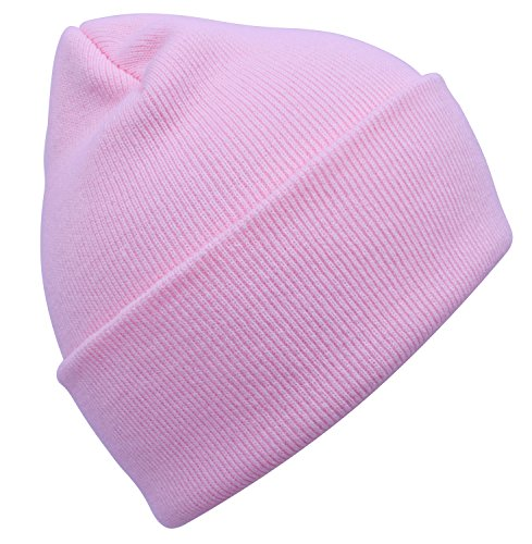 Girls Infant Baltimore Ravens '47 Pink Fraggle Knit Hat