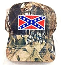 Johnny Reb Camouflage Rebel Flag Hunting Fishing Baseball Hat