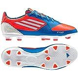 adidas F30 TRX FG J Little Kid/Big Kid Soccer Cleats (5, Infrared/Running White/Bright Blue)