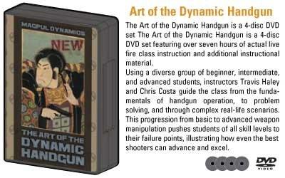 Magpul Dynamics Art of the Dynamic Handgun, 4-Disc DVD Set DYN004