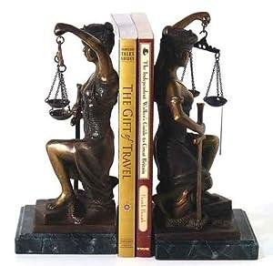 Bey Berk Lady Justice Bookend