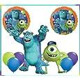 Monsters University Mike & Sulley Jumbo Mylar Balloon Set Birthday Party Bouquet