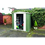 Rowlinson 6 x 5ft Metal Apex Shed