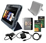 iShoppingdeals - Premium Accessory Bundle Combo for Kindle Fire HD 7