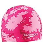 Speedo Graphic Daisy Floral Swim Cap