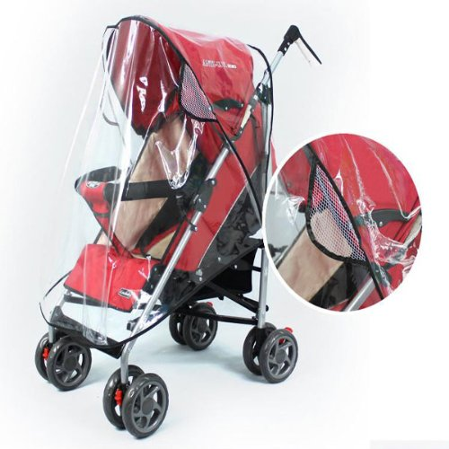 Baby Rain Wind Snow Sleet Cover for Single Jogger Stroller. (Baby Trend Car Seat Columbia compare prices)
