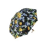 FEILER リタ 晴雨兼用折りたたみ傘 (黒)