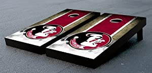 Florida State FSU Seminoles Cornhole Game Set Vintage Version by Gameday Cornhole