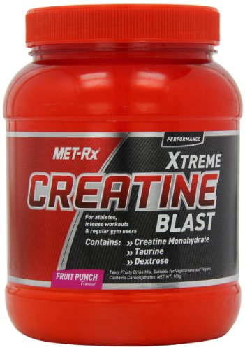 MET-Rx Creatine Blast 908 g Fruit Punch Strength and Recovery Drink Powder
