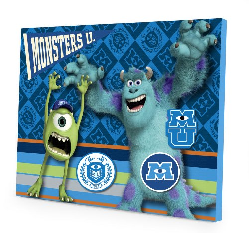 Disney Pixar Monsters University Magnetic Memo Board - 1