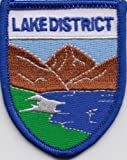 Lake District Cumbria County Shield Embroidered Patch Badge